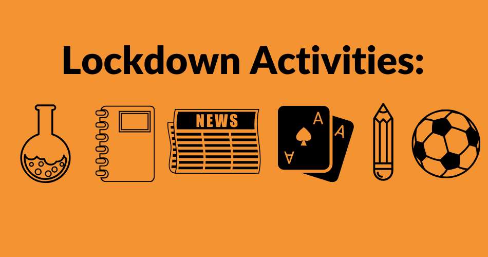 Four Creative Lockdown Activities